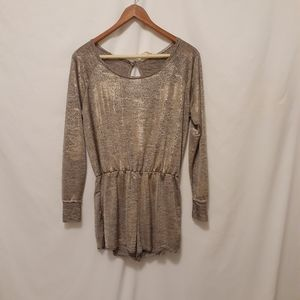 Pins and Needles shimmery romper